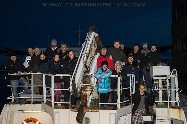 Big Fish Expeditions Orca Snorkeling Trip in Norway 2016