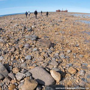 Wreck of the Ithaca, Churchill, Manitoba.