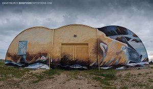 Polar Bear Jail in Churchill