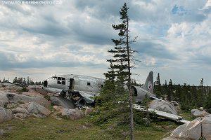 Miss Piggy mail plane wreck