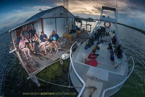 2018 Diving with crocodiles group photo
