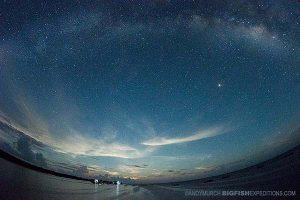 Milky Way in Mexico