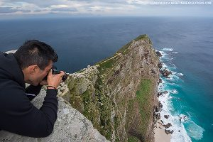 Photographing Cape Point, South Africa