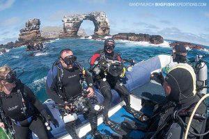 Diving Darwins Arch