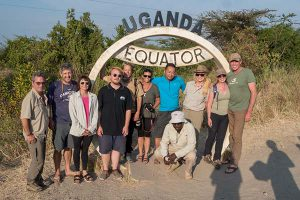 Crossing the Equator on our Primate Safari of Uganda
