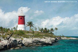 Gun Cay Light house, Bimini, Bahamas