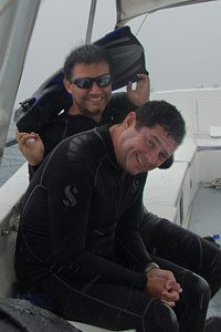 Guests on the sailfish diving adventure