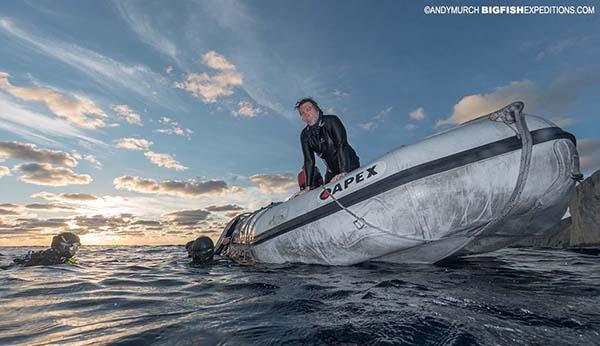 Scuba diving at Socorro.