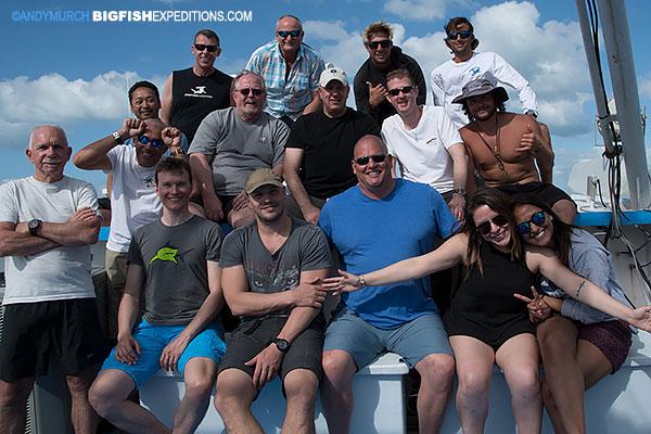 Tiger Beach dive trip 2017