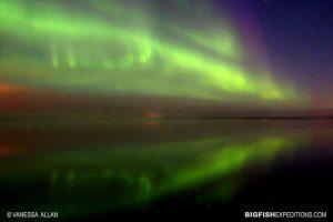 Aurora borealis in Churchill, Canada