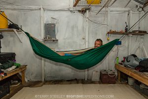 Sleeping at Chinchorro Atoll