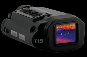Thermal imager for finding animals at night.