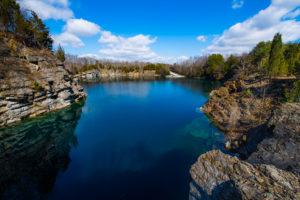 Loch Low-Minn Quarry by Jennifer Idol
