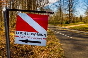Loch Low-Minn entrance by Jennifer Idol