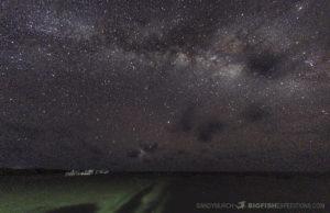 Milky Way at Chinchorro Atoll